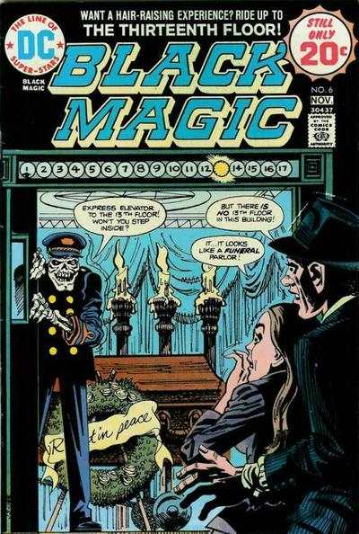 Black Magic #6 comic books - cover scans photos Black Magic #6 comic books - covers, picture gallery