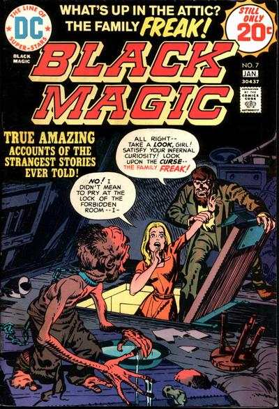 Black Magic #7 comic books - cover scans photos Black Magic #7 comic books - covers, picture gallery