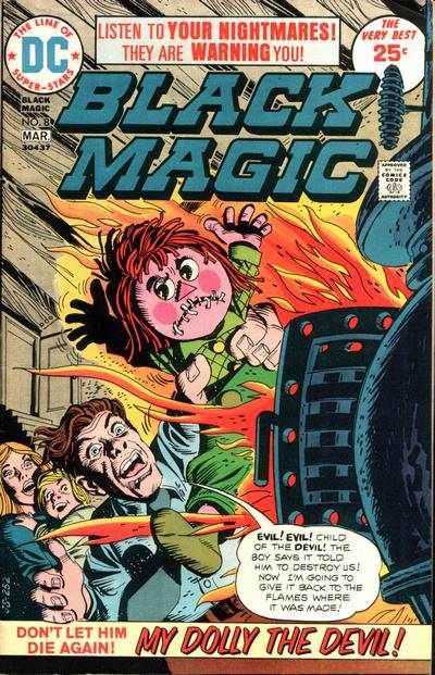 Black Magic #8 Comic Books - Covers, Scans, Photos  in Black Magic Comic Books - Covers, Scans, Gallery