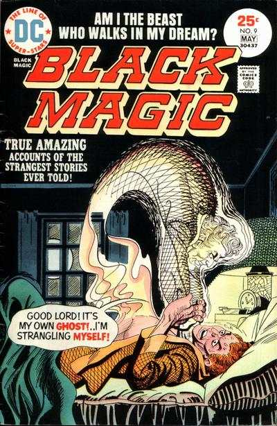 Black Magic #9 Comic Books - Covers, Scans, Photos  in Black Magic Comic Books - Covers, Scans, Gallery