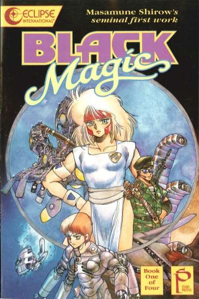 Black Magic #1 comic books - cover scans photos Black Magic #1 comic books - covers, picture gallery