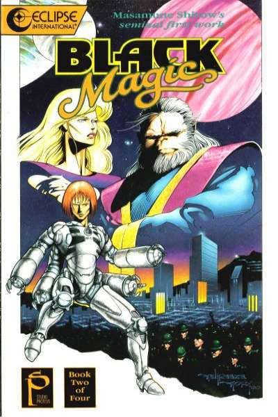 Black Magic #2 comic books - cover scans photos Black Magic #2 comic books - covers, picture gallery