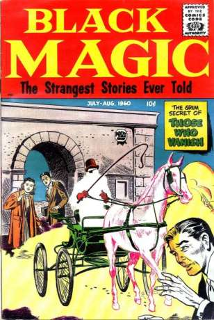 Black Magic: Volume 7 #3 comic books - cover scans photos Black Magic: Volume 7 #3 comic books - covers, picture gallery