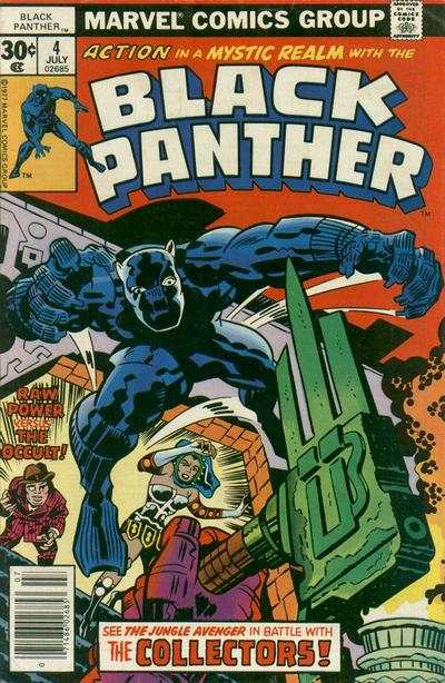 Black Panther #4 comic books - cover scans photos Black Panther #4 comic books - covers, picture gallery