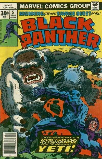 Black Panther #5 comic books - cover scans photos Black Panther #5 comic books - covers, picture gallery