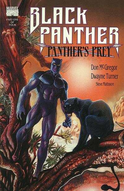 Black Panther: Panther's Prey #1 comic books - cover scans photos Black Panther: Panther's Prey #1 comic books - covers, picture gallery