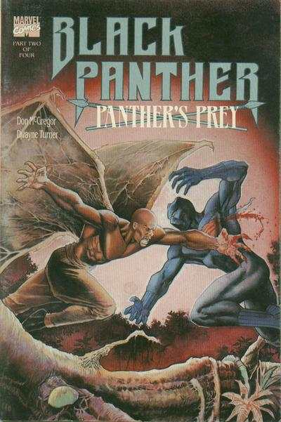 Black Panther: Panther's Prey #2 comic books - cover scans photos Black Panther: Panther's Prey #2 comic books - covers, picture gallery