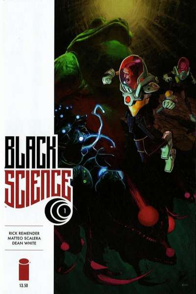 Black Science Comic Books. Black Science Comics.