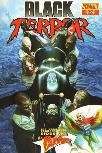 Black Terror #12 Comic Books - Covers, Scans, Photos  in Black Terror Comic Books - Covers, Scans, Gallery