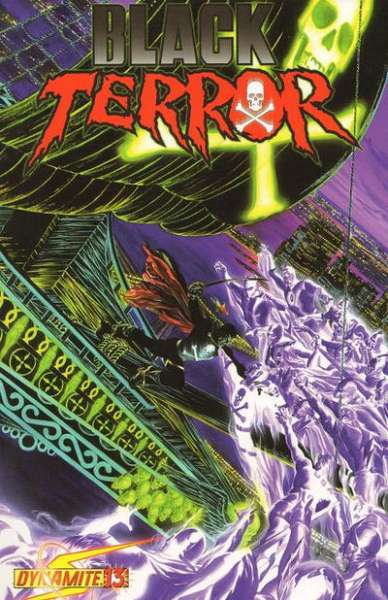 Black Terror #13 Comic Books - Covers, Scans, Photos  in Black Terror Comic Books - Covers, Scans, Gallery