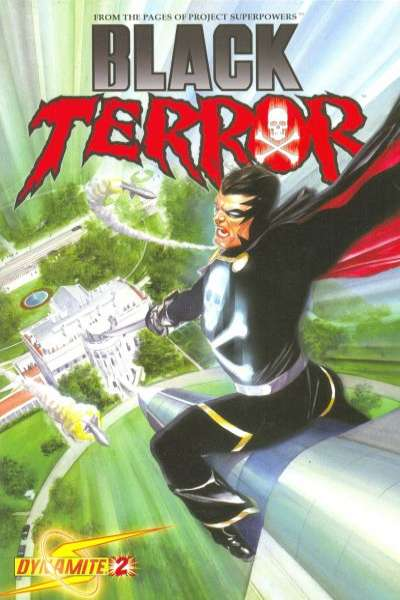 Black Terror #2 Comic Books - Covers, Scans, Photos  in Black Terror Comic Books - Covers, Scans, Gallery
