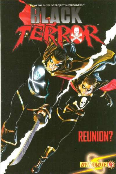 Black Terror #4 Comic Books - Covers, Scans, Photos  in Black Terror Comic Books - Covers, Scans, Gallery