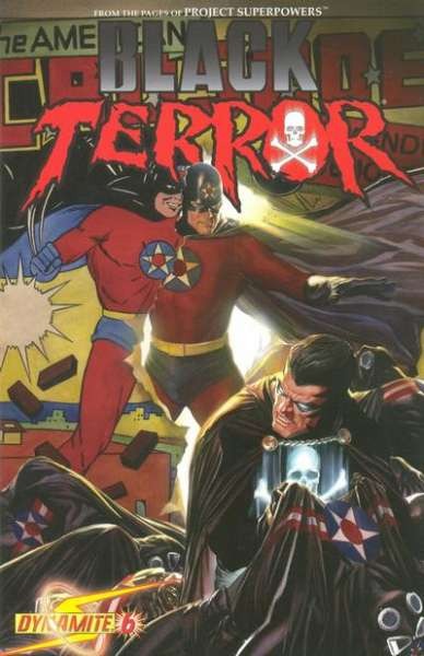 Black Terror #6 Comic Books - Covers, Scans, Photos  in Black Terror Comic Books - Covers, Scans, Gallery