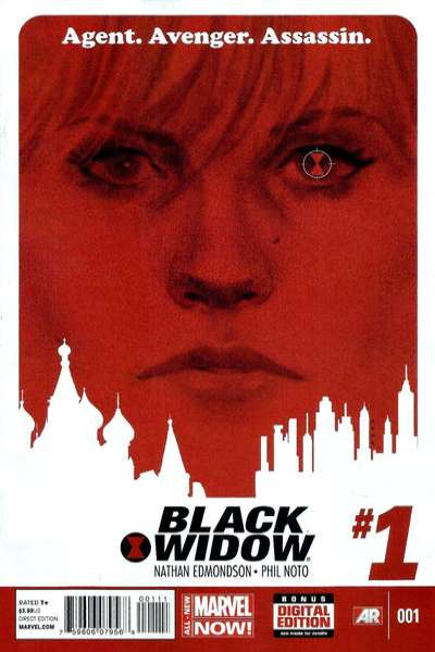 Black Widow comic books