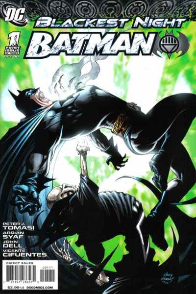 Blackest Night: Batman #1 comic books - cover scans photos Blackest Night: Batman #1 comic books - covers, picture gallery