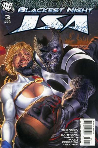 Blackest Night: JSA #3 comic books - cover scans photos Blackest Night: JSA #3 comic books - covers, picture gallery