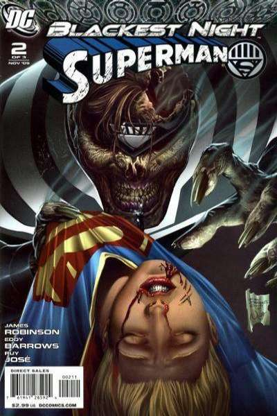 Blackest Night: Superman #2 comic books - cover scans photos Blackest Night: Superman #2 comic books - covers, picture gallery