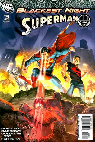 Blackest Night: Superman #3 comic books for sale