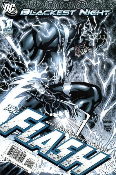 Blackest Night: The Flash comic books