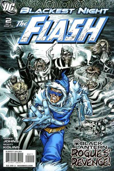 Blackest Night: The Flash #2 comic books for sale