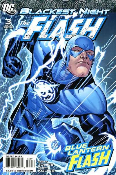 Blackest Night: The Flash #3 comic books for sale