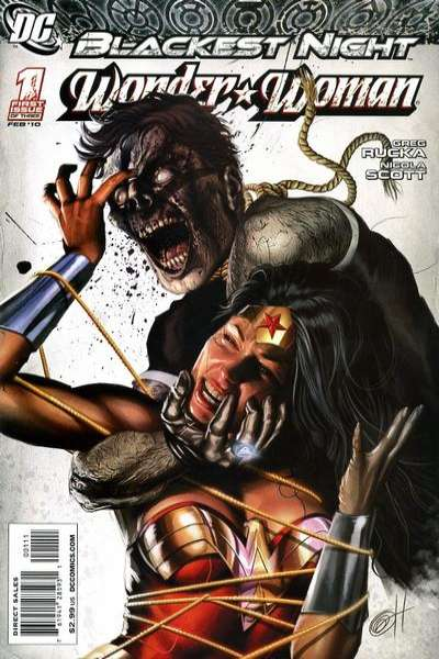 Blackest Night: Wonder Woman #1 comic books - cover scans photos Blackest Night: Wonder Woman #1 comic books - covers, picture gallery