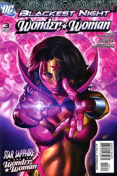 Blackest Night: Wonder Woman #3 comic books - cover scans photos Blackest Night: Wonder Woman #3 comic books - covers, picture gallery