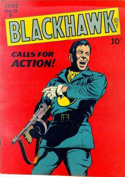 Blackhawk #19 Comic Books - Covers, Scans, Photos  in Blackhawk Comic Books - Covers, Scans, Gallery