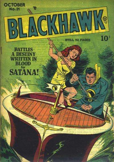 Blackhawk #21 comic books for sale