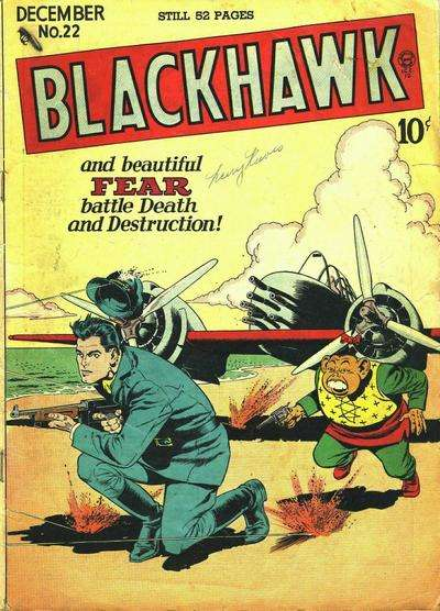 Blackhawk #22 Comic Books - Covers, Scans, Photos  in Blackhawk Comic Books - Covers, Scans, Gallery