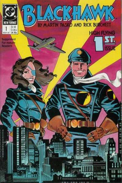Blackhawk #1 Comic Books - Covers, Scans, Photos  in Blackhawk Comic Books - Covers, Scans, Gallery