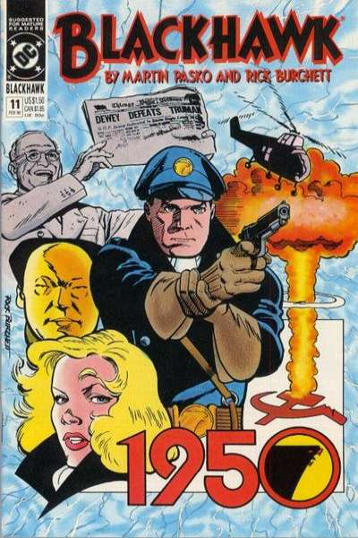 Blackhawk #11 Comic Books - Covers, Scans, Photos  in Blackhawk Comic Books - Covers, Scans, Gallery