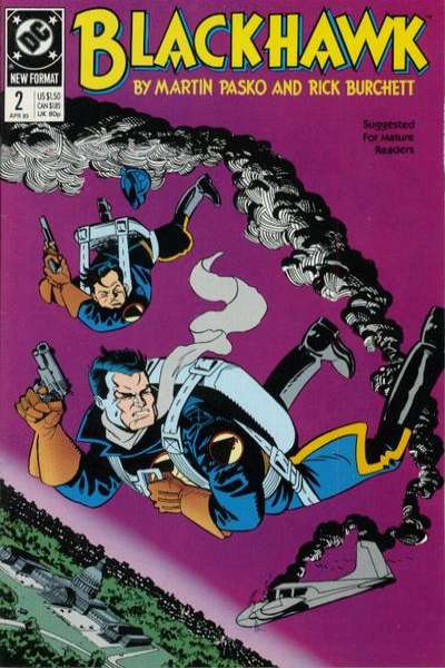 Blackhawk #2 Comic Books - Covers, Scans, Photos  in Blackhawk Comic Books - Covers, Scans, Gallery