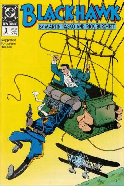 Blackhawk #3 Comic Books - Covers, Scans, Photos  in Blackhawk Comic Books - Covers, Scans, Gallery