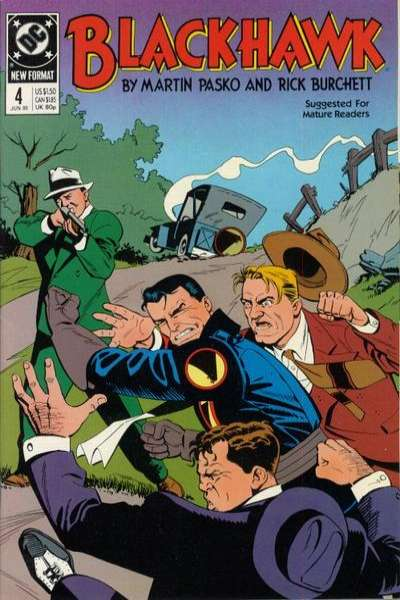 Blackhawk #4 comic books for sale
