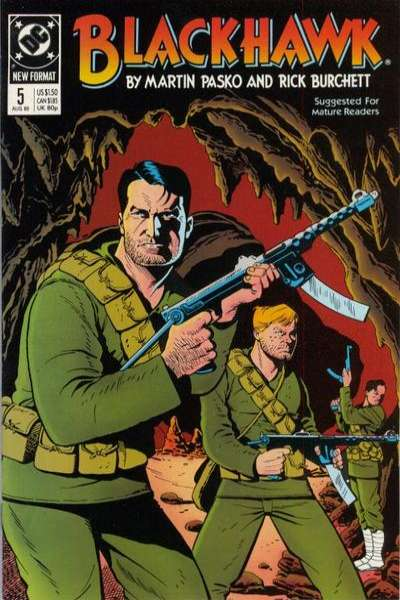 Blackhawk #5 Comic Books - Covers, Scans, Photos  in Blackhawk Comic Books - Covers, Scans, Gallery