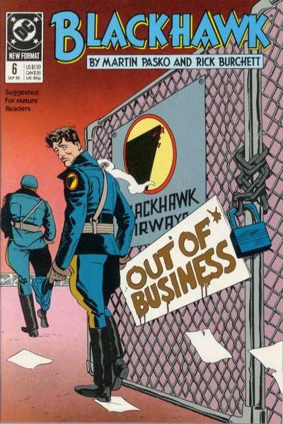 Blackhawk #6 Comic Books - Covers, Scans, Photos  in Blackhawk Comic Books - Covers, Scans, Gallery