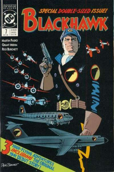Blackhawk #7 Comic Books - Covers, Scans, Photos  in Blackhawk Comic Books - Covers, Scans, Gallery