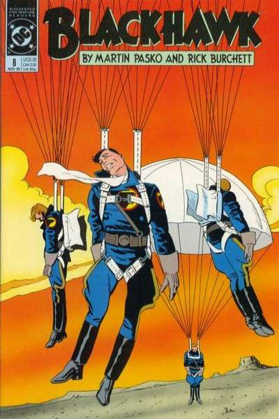 Blackhawk #8 Comic Books - Covers, Scans, Photos  in Blackhawk Comic Books - Covers, Scans, Gallery