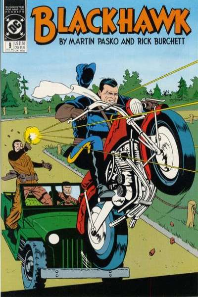 Blackhawk #9 Comic Books - Covers, Scans, Photos  in Blackhawk Comic Books - Covers, Scans, Gallery