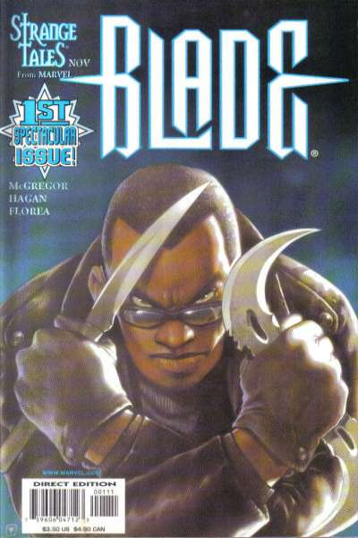 Blade: The Vampire Hunter comic books