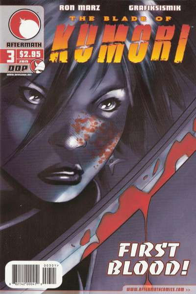 Blade of Kumori #3 comic books for sale