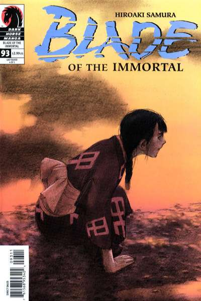 Blade of the Immortal #93 comic books for sale