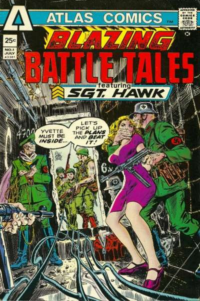 Blazing Battle Tales Comic Books. Blazing Battle Tales Comics.