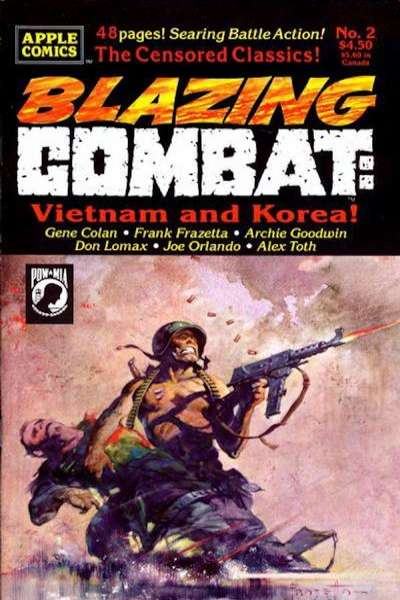 Blazing Combat: Vietnam and Korea #2 comic books - cover scans photos Blazing Combat: Vietnam and Korea #2 comic books - covers, picture gallery