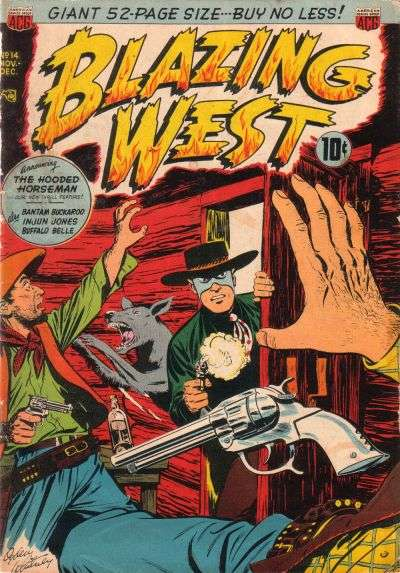 Blazing West #14 comic books for sale