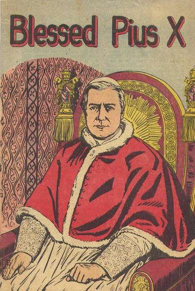 Blessed Pius X #1 comic books - cover scans photos Blessed Pius X #1 comic books - covers, picture gallery