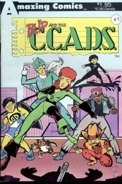 Blip and the C.C.A.D.S comic books