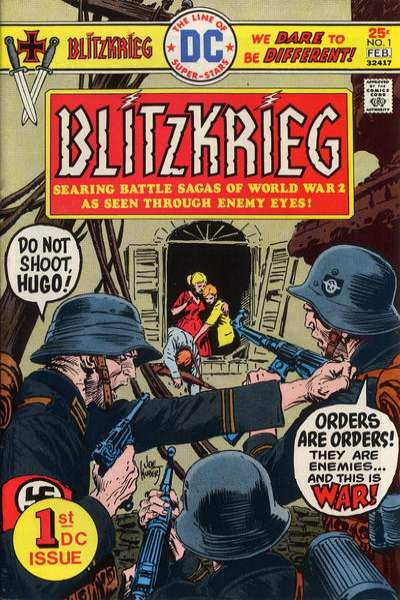 Blitzkrieg # comic book complete sets Blitzkrieg # comic books