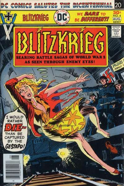 Blitzkrieg #4 comic books for sale